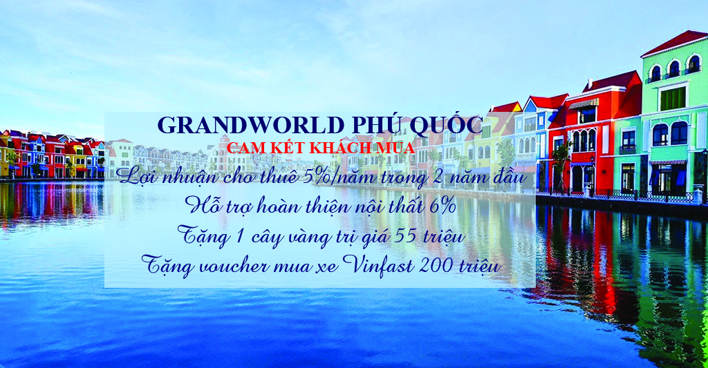 SHOP GRAND WORLD PHÚ QUỐC
