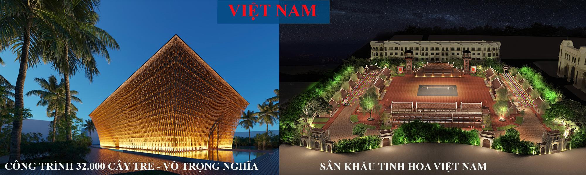 Biểu tượng Việt Nam tại GrandWorld