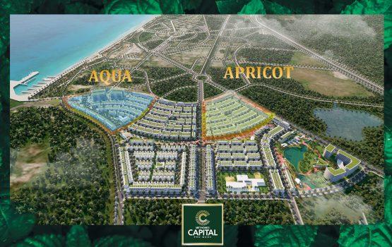 Khu Apricot và Aqua dự án Meyhomes Phú Quốc