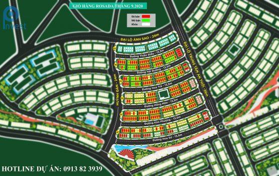 Giỏ hàng Meyhomes Capital Phú Quốc tháng 9.2020 mới nhất