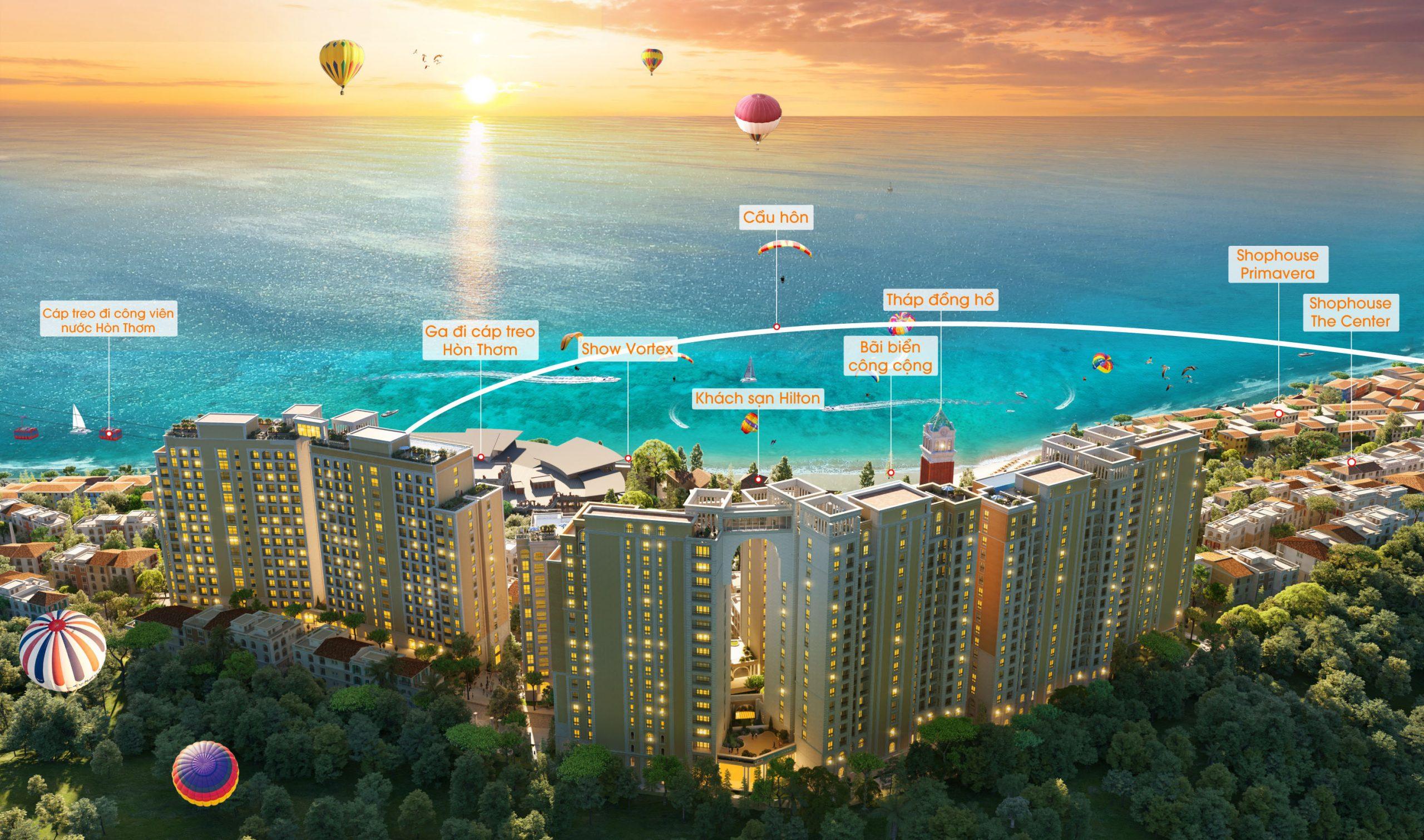 Tiện ích của căn hộ Sun Grand City HillSide Residence Phú Quốc