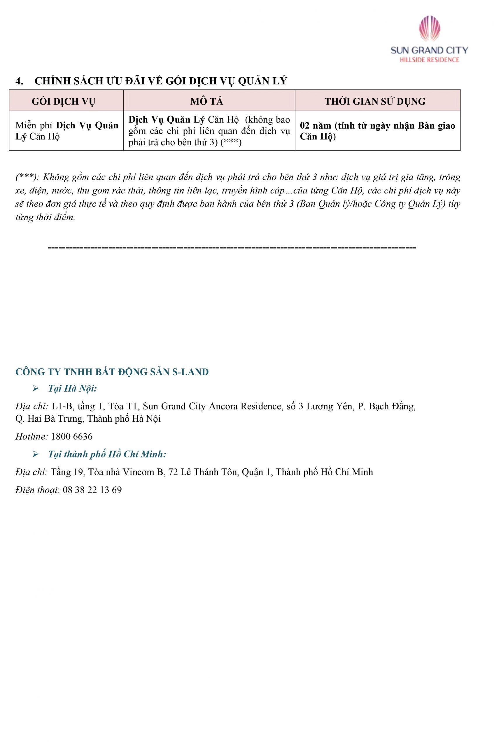 Chính sách bán hàng Biệt thự Sun Tropical Phú Quốc