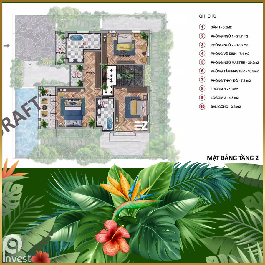 Biệt thự Đơn Lập B Sun Tropical Village Phú Quốc
