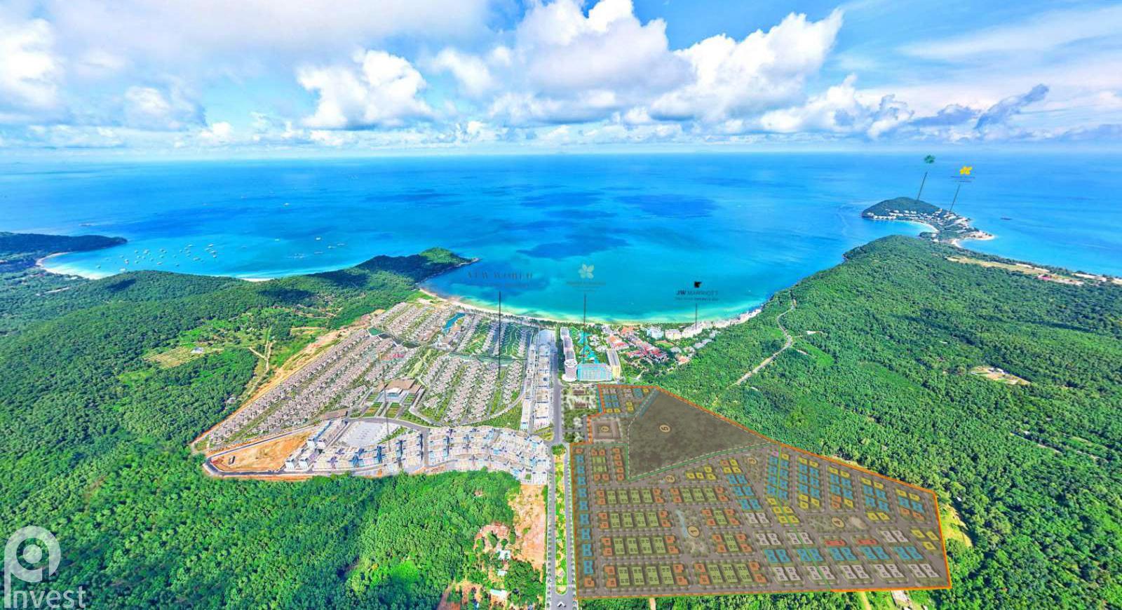 Vị trí Sun Tropical Village Nam Phú Quốc có MB